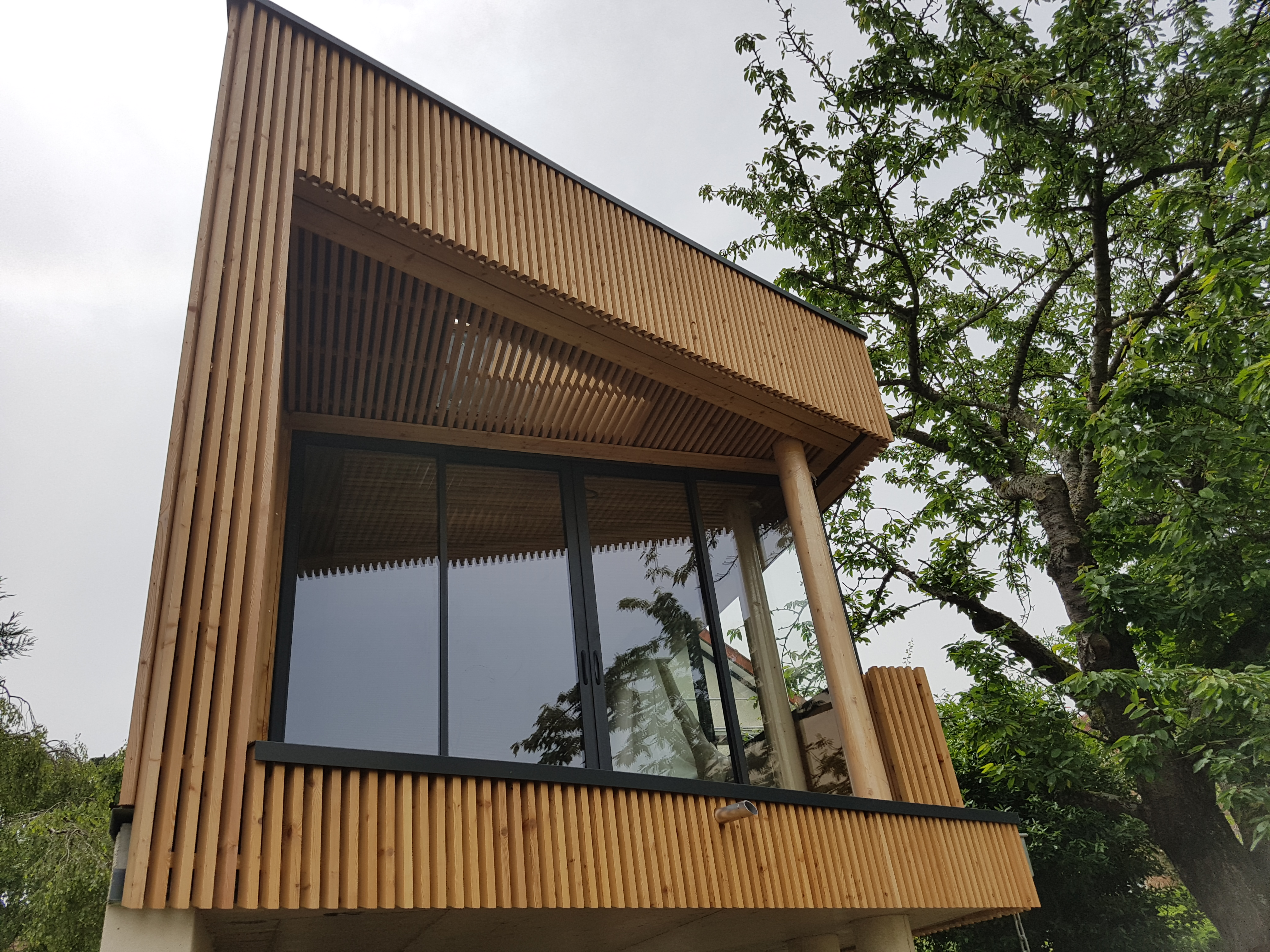 Extension 1 maisons k constructeur de maisons ou for Constructeur de maison en alsace
