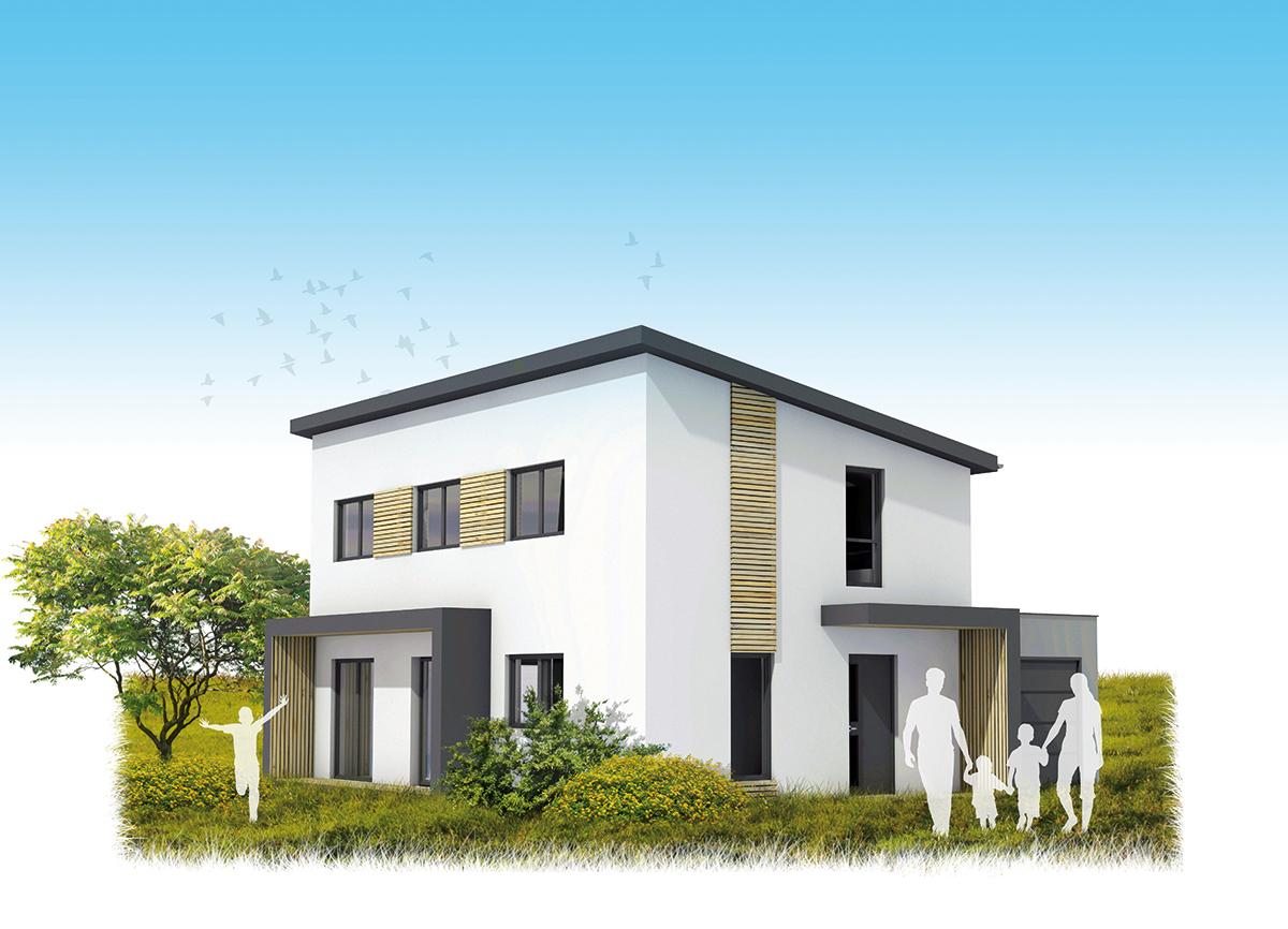 Maison 1 maisons k constructeur de maisons ou for Constructeur maison individuelle 67