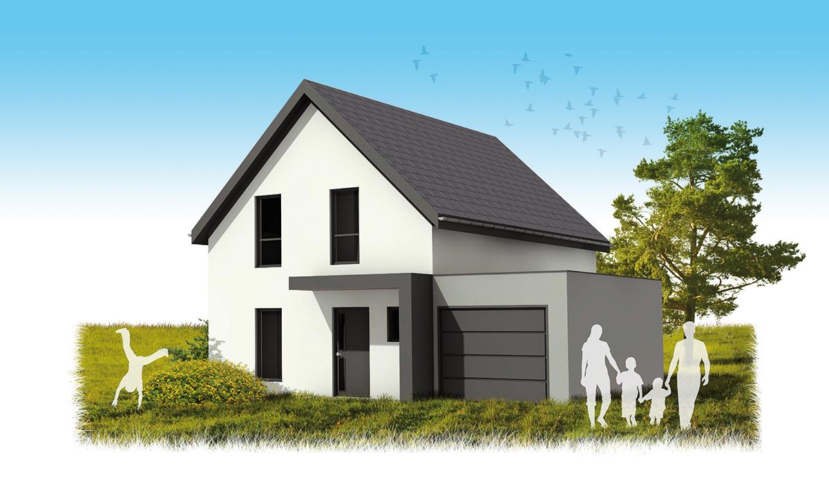 Maison hh maisons k constructeur de maisons ou for Constructeur de maison en alsace