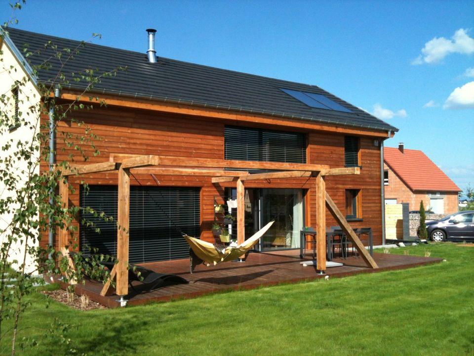 maisons en ossature bois, construction BBC